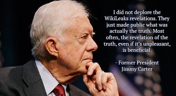 Carter on WikiLeaks